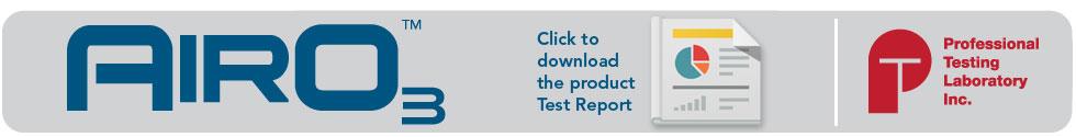 cleano3-airo3-test-report